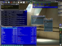 screenshot of the theme Glass